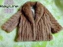 SAGA FOXコート サガフォックスコート 毛皮 コート ブラウン系 サイズ11 美品 古着 【中古】t-003