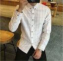 メンズ ワイシャツ 長袖シャツ 全5色 M-5XLサイズ 新品未使用品 t-003△△266-605
