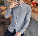 メンズ ワイシャツ 長袖シャツ 全6色 M-5XLサイズ 新品未使用品 t-003△△266-c03