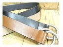 牛革ベルト ■40mm ♪栃木レザー社製レザーを使用した本格派ダブリングベルトです。シンプルながら存在感のあるスタイルで根強い人気のベルトです。