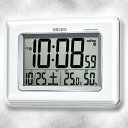 【SEIKO/セイコー】 電波掛置兼用時計 SQ424W《電波時計・置時計・掛け時計》