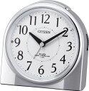 【CITIZEN/シチズン|リズム時計】CITIZEN 夜間常時点灯電波目覚し時計 ネムリーナリング 4RL432-019