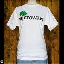 Tシャツ/メンズ/レディース/6.2oz半袖Tシャツ : microwave WH : ホワイト