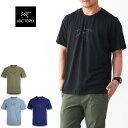 ARC'TERYX [アークテリクス正規代理店] Cormac Logo SS MEN'S [25154] コーマック ロゴ シャツ メンズ「トレイルランニング・ランニング・ロードランニング・ランT・Tシャツ・tee shirts」MEN'S
