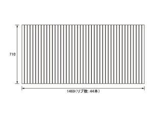 �ѥʥ��˥å�Panasonic(�����Ź��ʥ���ʥ�)��Ϥ�դ�(�դ�դ��ե�ե�)�����դ�RL91FX04HM710×1469mm(��ֿ�:44��)