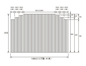 �ѥʥ��˥å�Panasonic(�����Ź��ʥ���ʥ�)��Ϥ�դ�(�դ�դ��ե�ե�)�����դ�RL9RL91026(RL91026��������)910×1368.5mm(��ֿ�:41��)