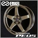 送料無料ENKEI エンケイ パフォーマンスラインPF05 ブロンズ 限定カラー18インチ 8.0J 8J 45 5穴 PCD100国産ホイール 4本セット