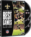 SALE OFF!新品DVD!NFL: The New Orleans Saints - Best Games of 2009 Regular Season (3 Discs)!