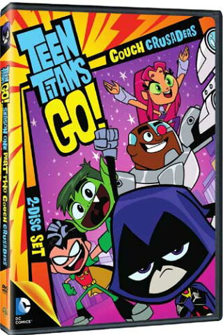 SALE OFF!新品北米版DVD!【ティーン・タイタンズGO!シーズン1 パート2】 Teen Titans Go! Season 1 Part 2: Couch Crusaders!