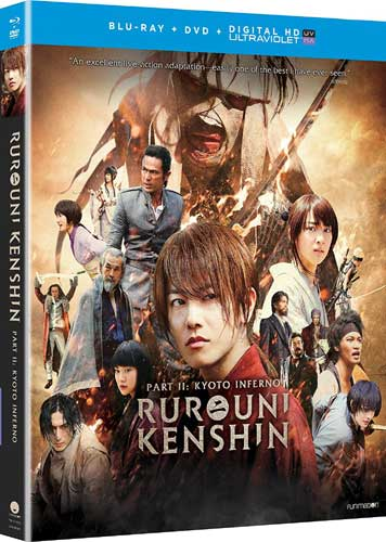 ■予約■新品北米版Blu-ray!【るろうに剣心 京都大火編】 <実写映画化第2弾>