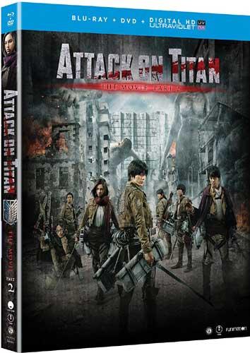 ■予約■新品北米版Blu-ray!【進撃の巨人 ATTACK ON TITAN エンド オブ ザ ワールド】 <実写映画化第2弾>