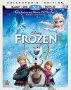 SALE OFF!新品北米版Blu-ray!【アナと雪の女王】 Frozen [Blu-ray/DVD] Collector's Edition!