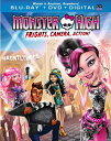 SALE OFF!新品北米版Blu-ray!【モンスター・ハイ よーい! カメラ! アクション! 】 Monster High: Frights, Camera, Action! [Blu-ray..