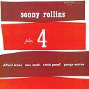 新品<LP> Sonny Rollins / Plus Four