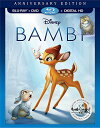 SALE OFF!新品北米版Blu-ray!【バンビ】 Bambi: Anniversary Edition: The Signature Collection [Blu-ray/DVD]!