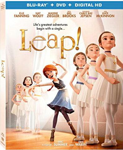 ■予約■SALE OFF!新品北米版Blu-ray!【フェリシーと夢のトウシューズ】 Leap! [Blu-ray/DVD]