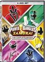 楽天RGB DVD STORE/SPORTS&CULTURESALE OFF!新品北米版DVD!【パワーレンジャー・サムライ】 Power Rangers: Samurai - The Complete Season!
