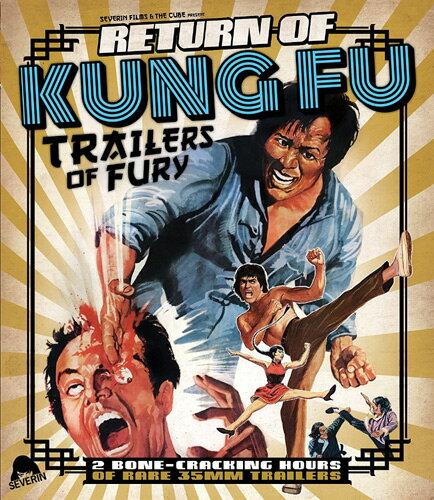 新品北米版Blu-ray!Return Of Kung Fu Trailers Of Fury [Blu-ray]!<カンフー映画予告編集><ブアンジェラ・マオ、ヤン・スエ、チャン・イー、ブルース・リィ、ロー・リエ、チャック・ノリス他>