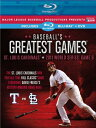 北米版Blu-ray!BASEBALL'S GREATEST GAMES: 2011 WORLD SERIES GAME