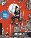 """【こちらの商品はお取り寄せの商品になります。入荷の目安:1〜3週間】 ※万が一、メーカーに在庫が無い場合はキャンセルとさせて頂く場合がございます。その際はご了承くださいませ。 The Samurai Trilogy (Criterion Collection) [Blu-ray] 稲垣浩監督 宮本武蔵 3部作 『宮本武蔵』『続・宮本武蔵 一乗寺の決闘』『宮本武蔵・完結篇 決闘巌流島』 [ US / Criterion Collection / Blu-ray ] 新品! ※アメリカ盤ブルーレイですが、国内ブルーレイデッキで日本盤ブルーレイと同じようにご覧頂けます。 ※日本盤と同じように日本語音声でご覧頂けます。 吉川英治の剣豪小説を稲垣浩監督が三船敏郎主演で映画化した3部作を収めた北米版ブルーレイ!!高音質、高画質で定評のあるクライテリオンからのリリースです!! 【収録作品】 ■""""Samurai Trilogy 1: Musashi Miyamoto"""" (1954, 宮本武蔵) ■""""Samurai Trilogy 2: Duel At Ichijoji Temple"""" (1955, 続・宮本武蔵 一乗寺の決闘) ■""""Samurai Trilogy 3: Duel At Ganryu Island"""" (1956, 宮本武蔵・完結篇 決闘巌流島) 【仕様】 ■音声:日本語 ■字幕:英語 ■ディスク枚数:3枚 ■収録時間:本編300分 【Special Features】 ・New High-Definition Digital Restorations Of All Three Films ・New Interviews With Translator And Historian William Scott Wilson About The Real-Life Musashi Miyamoto, The Inspiration For The Hero Of The Films ・Trailers ・New English Subtitle Translations ・Plus: A Booklet Featuring Essays By Film Historian Stephen Prince And Wilson"""