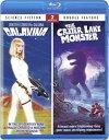 """【こちらの商品はお取り寄せの商品になります。入荷の目安:1〜3週間】 ※万が一、メーカーに在庫が無い場合はキャンセルとさせて頂く場合がございます。その際はご了承くださいませ。 Galaxina/The Crater Lake Monster (Blu-ray) 『ギャラクシーナ』『魔の火山湖・甦えった巨大生物の恐怖』 [ US / Mill Creek Ent / Blu-Ray ] 新品! ※アメリカ盤ブルーレイですが、国内ブルーレイデッキで日本盤ブルーレイと同じようにご覧頂けます。 ※アメリカ盤ブルーレイにつき日本語字幕はございません。 『ギャラクシーナ』『魔の火山湖・甦えった巨大生物の恐怖』の2作品をセットにした北米版ブルーレイ!! 【収録作品】 ■""""Galaxina (Blu-ray)"""" (1980, ギャラクシーナ) 出演: ドロシー・ストラットン, スティーヴン・マクト, アヴェリー・シュライバー, ジェームズ・ディビッド・ヒントン 監督: ウィリアム・サックス 1980年代を代表するプレイメイト、ドロシー・ストラットン主演のSFアドベンチャーコメディ。時は28世紀、全宇宙を支配できるエネルギーを秘める宝石を手に入れるため、宇宙を駆けるインフィニティ号は宇宙人と戦いながら探し出す…。 ■""""The Crater Lake Monster (Blu-ray)"""" (1977, 魔の火山湖・甦えった巨大生物の恐怖) 出演:リチャード・カーデラ, リチャード・ギャリソン, グレン・ロバーツ 監督:ウィリアム・R・ストロンバーグ 【仕様】 ■音声:英語 ■字幕:英語 ■ディスク枚数:1枚 ■収録時間:本編176分"""