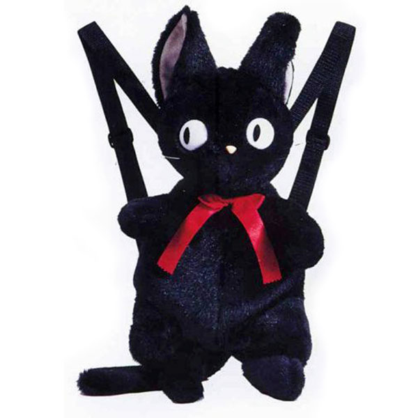 黒猫のジジ リュックサック|スタジオジブリ|ぬいぐるみ 猫|ねこ|魔女の宅急便|黒猫のジジ|