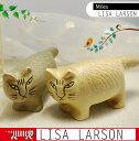 リサラーソン(Lisa Larson)mika(ミカ)|猫グッズ|猫雑貨|猫|ねこ|置物|オブジェ【05P27May16】