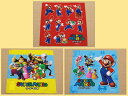 [Super Mario] 3 napkin lunch cross Mario patterns [easy ギフ _ packing choice]