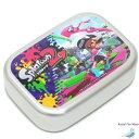 スプラトゥーン アルミ弁当箱 1段 ランチボックス 370ml グッズ 幼稚園 保育園 小学生 子供 キッズ 遠足 給食 男の子