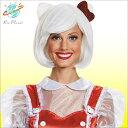 ハローキティ キティちゃん ウィッグ ボブ ホワイト ハローキティ キティちゃん ウィッグ ボブ ホワイト