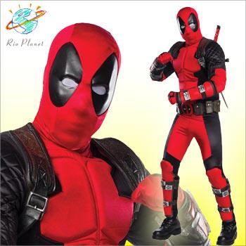 デッドプール コスチューム コスプレ ハロウィン 衣装 仮装 メンズ デッドプール2 Deadpool
