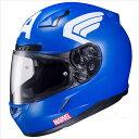 ヘルメット バイク フルフェイス エアロデザイン シールド マーベル キャプテン アメリカ 05P03Dec16