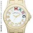 【正規品取扱店】 マーク バイ マーク ジェイコブス 腕時計 リベラ MARC BY MARC JACOBS 'Rivera' Crystal Accent Watch カラー:ゴールド