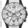 【正規品取扱店】 マーク バイ マーク ジェイコブス 腕時計 ロック MARC BY MARC JACOBS 'Rock' Chronograph Silicone Bracelet Watch カラー:ホワイト
