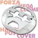 【あす楽対応】 フォルツァ/S MF06 シルバーウイング メッキハンドルポストカバー 外装 パーツ FORZA