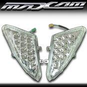 【あす楽対応】 マグザム SG17J SG21J フロント LEDウインカー ヤマハ MAXAM