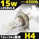 【15W】【H4】【LED】【バルブ】【純正】【フォグ】【交換】【ライト】【白】