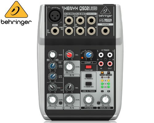 Behringer(ベリンガー)アナログミキサー Q502 USB XENYX