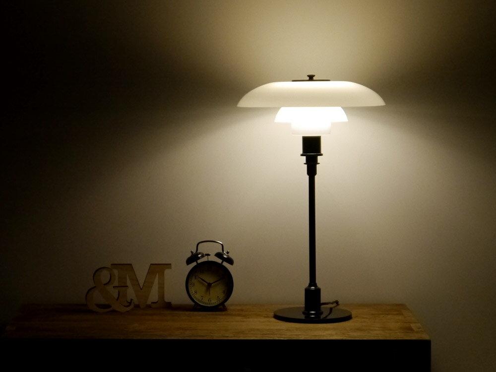 テーブルライト PH3/2 ブラック 北欧デザイン ポールヘニングセン Poul Henningsen インテリア照明 リプロダクト 書斎 寝室 デスク ランプ デザイナーズ 05P02Mar14