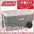 【在庫有り】【送料無料】Coleman コールマン エクストリーム ウルトラ ホイール クーラー 50QT 容量約47L キャスター付き クーラーボックス キャンプ バーベキュー クーラーボックス 保冷 大容量 大型 アウトドア キャンプ 釣り Coleman 50 qt Xtreme Ultra Wheeled Cooler