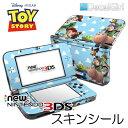 【在庫有り】【ゆうパケット対応】decalgirlディズニー トイストーリー スキンシール NEW 3DS/3DSLL&3DS/3DSLL用 2015年新型 ニンテンドー 3DS/3DSLLカバー ケース デコシール