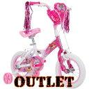 【アウトレット】Huffy 12インチ ディズニー プリンセス ガールズ バイク《プリンセス ピンク》子供用 自転車 子供用自転車 幼児用自転車 キッズサイクル 補助輪 ジュニア キッズ バイク Huffy 12