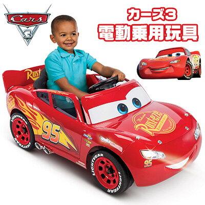 在庫有り送料無料ディズニー/ピクサーカーズ3ライトニング・マックィーン6Vバッテリーパワーライドオン