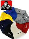 【メール便送料無料】 ベンデイビス BEN DAVIS ニットキャップ キャップ 帽子 ニット帽 黄色 赤 ビーニー メンズ レディース ユニセックス 男女兼用 ストリート BDW-9526