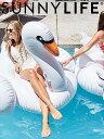 SUNNYLIFE サニーライフ スワン フロート 浮き輪 浮輪 うきわ 白鳥 ビッグサイズ ホワイト Luxe Float Swan 海水浴 ビーチ プール お風..