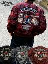 テッドマン TEDMAN MA-1 MA1 メンズ フライトジャケット アウター TEDDON ルアー ブラックバス 釣り ワッペン 刺繍 迷彩 カモフラ 別注商品 エフ商会 TMA-470