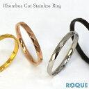 サージカルステンレスリング 指輪 ペアリング Rhombus