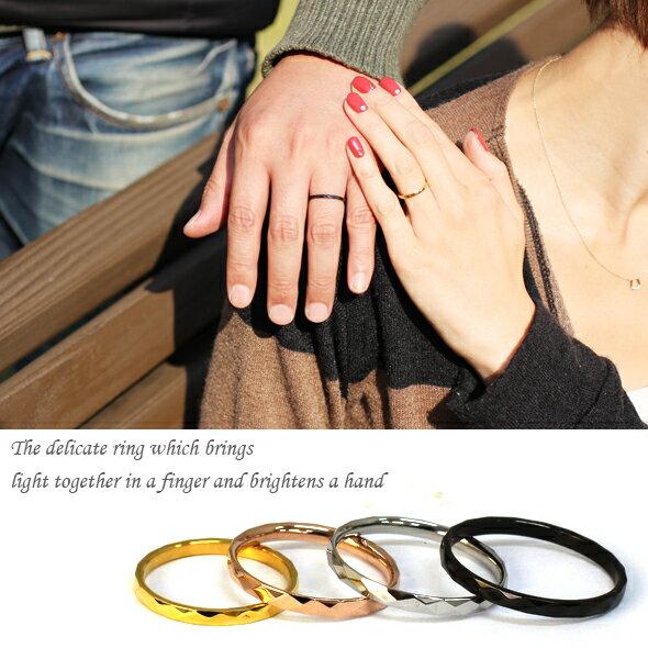 サージカルステンレスリング 指輪 ペアリング ...の紹介画像3