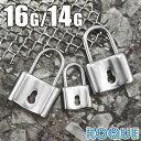 リング ボディピアス 16G 14G 南京錠モチーフ(1個売り)◆オマケ革命◆
