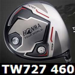 【HONMA GOLF TW 727 460 Driver VIZARD YC Shaft】 本間ゴルフ TW 727 460 ドライバー ヴィザード YC カーボンシャフト装着  【日本正規品】【送料無料】【smtb-k】【kb】 送料無料 日本正規品 TW727 Series 2015年1月発売モデル